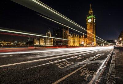 Fototapeta London Bus pas