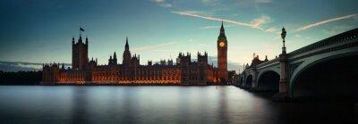 Fototapeta Londyn o zmierzchu