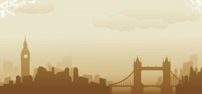 Fototapeta Londyn skyline