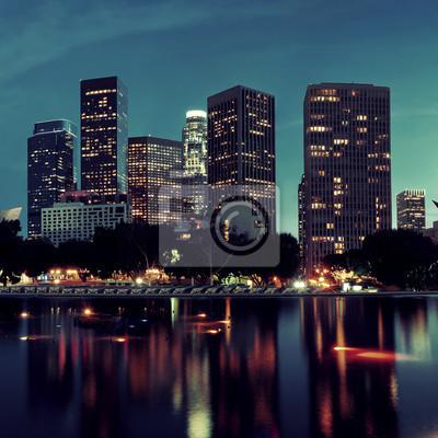 Los Angeles w nocy