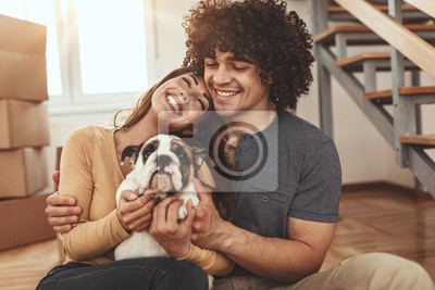 Fototapeta Love In New Home