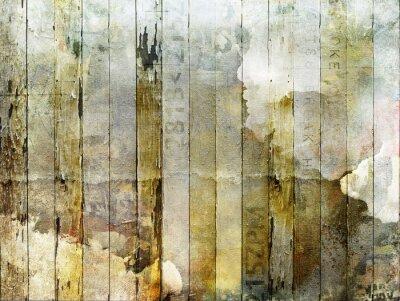 Fototapeta Lubiący planches de bois grunge