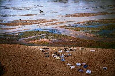 Ludzie, rzeka, Madagaskar