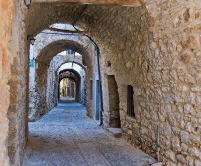 Fototapeta Łuki w miejscowości Mesta w Chios, Grecja