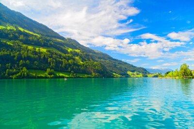 Fototapeta Lungernsee, Szwajcaria