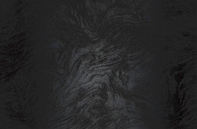 Fototapeta Luxury black metal gradient background with distressed wooden parquet texture.