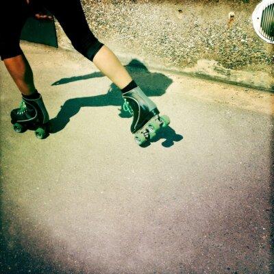 Fototapeta łyżwiarstwo