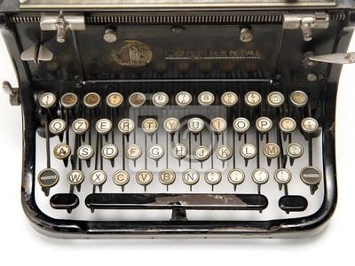 Fototapeta macchina da scrivere