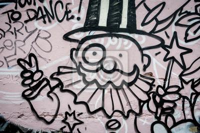 Fototapeta Magicien Graffiti