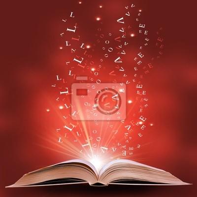 Fototapeta magiczne książki