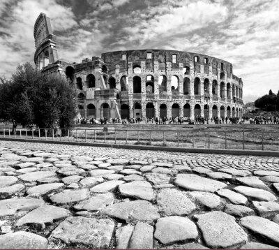 Fototapeta Majestic Koloseum, Rzym, Włochy.