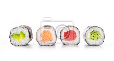 Fototapeta Maki sushi jedzenie