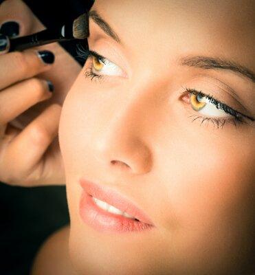 Fototapeta makijaż