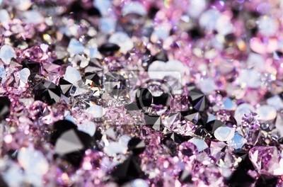 b57754b7d3a3e5 Fototapeta Małe purpurowe kamienie szlachetne, luksusowe tło płytkie  głębokość czuj?