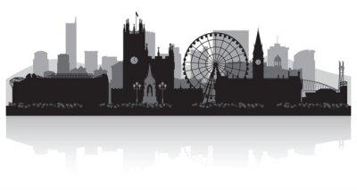 Fototapeta Manchester city skyline