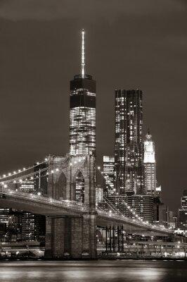 Manhattan w nocy