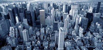 Fototapeta Manhattan, widok z góry