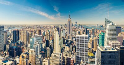 Fototapeta Manhattan z lotu ptaka