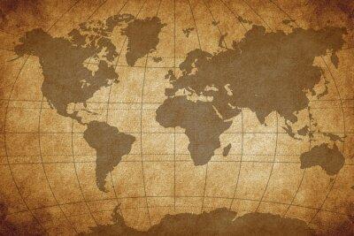 Fototapeta Mapa świata