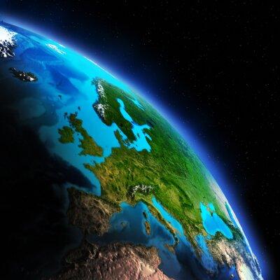 Fototapeta Mapa Ziemi