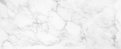 Fototapeta Marble granite white panorama background wall surface black pattern graphic abstract light elegant gray for do floor ceramic counter texture stone slab smooth tile silver natural.