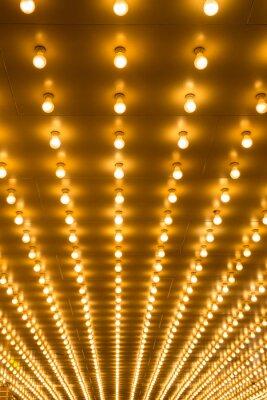 Fototapeta marquee światła