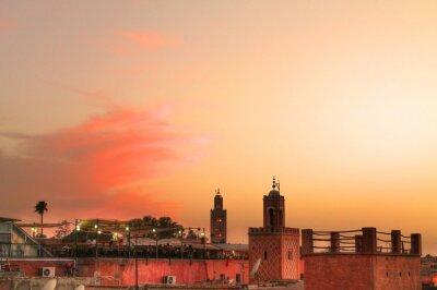 Fototapeta Marrakesch Sunset