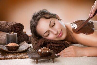 Fototapeta Maska Chocolate Spa. Luxury Spa Treatment