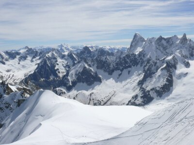 Fototapeta Massif du Mont Blanc