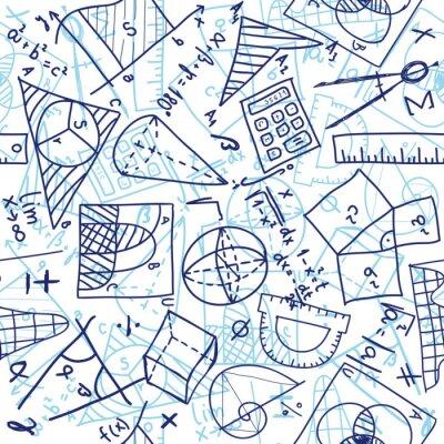 Fototapeta Matematyka bez szwu wzór