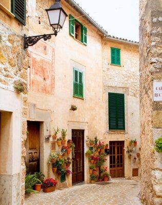 Fototapeta Medieval Valldemosa tradycyjne Majorka wieś