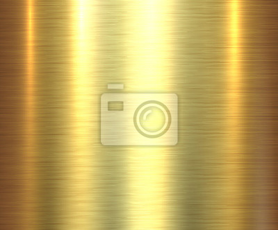 Fototapeta Metal gold texture background, golden brushed metallic texture plate.