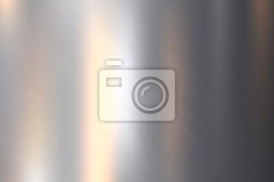 Fototapeta Metal, nierdzewnej stali tekstury tła z refleksji