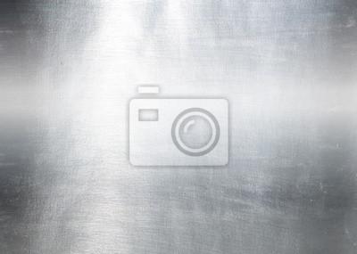 Fototapeta Metal plate background stali. Hi res tekstury