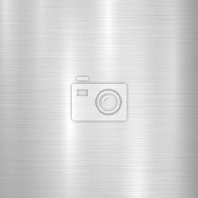 Fototapeta Metal streszczenie technologii tle z polerowane, szczotkowane tekstury, chrom, srebra, stali, aluminium dla koncepcji projektowych, www, grafiki, plakaty, tapety, interfejsów. ilustracji wektorowych.