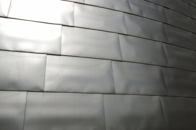 Fototapeta Metal surface texture with samples