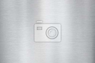 Fototapeta metal szczotkowanego aluminium tekstury lub tła
