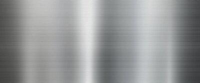 Fototapeta Metal tekstury tło w kolorze srebrnym
