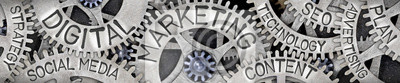 Fototapeta Metal Wheel Concept