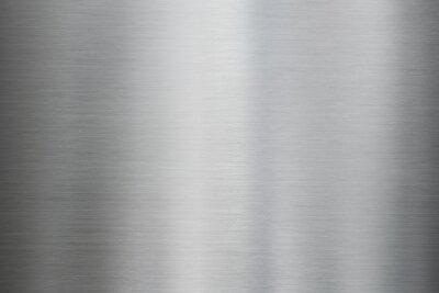 Fototapeta Metalowa szczotkowana stal lub aluminium