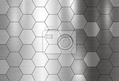 Metalowe tekstury tła ilustracji wektorowych