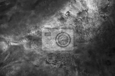 Fototapeta Metalowe tła, tekstury z tytanu, arkusz metalowej powierzchni, stali, farby
