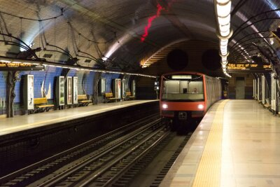 Fototapeta Metro w Lizbonie