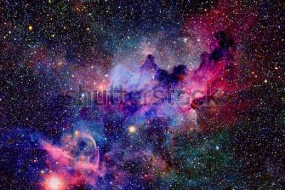 Fototapeta Mgławica i galaktyki w kosmosie. Elementy tego zdjęcia dostarczone przez NASA.