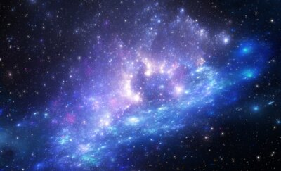 Fototapeta Mgławica jest miejscem, gdzie rodzą się nowe gwiazdy