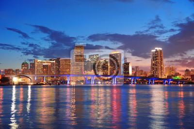 Miami scena noc