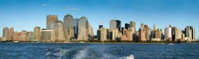 Fototapeta Miasto na wybrzeżu, Manhattan, Nowy Jork, Nowy Jork, USA