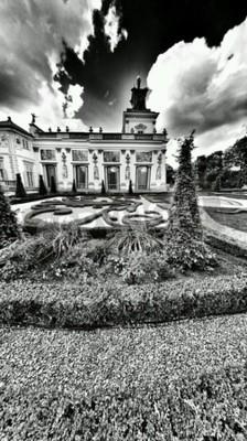 Fototapeta Miejsca Warszawa, Pałac Królewski w Wilanowie, Warszawa, Polska.