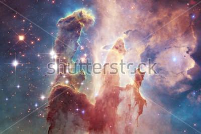Fototapeta Miliardy galaktyk we wszechświecie. Abstract tło. Elementy tego obrazu dostarczone przez NASA