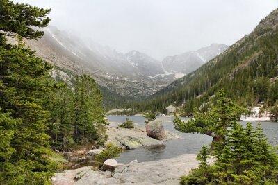 Fototapeta Mills Lake - Rocky Mountains, Colorado